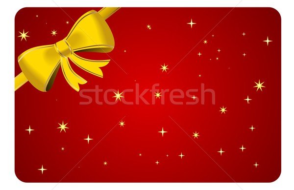 Christmas abstract ontwerp achtergrond winter star Stockfoto © smeagorl
