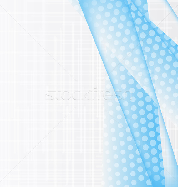 Illustration abstract blue background Stock photo © smeagorl