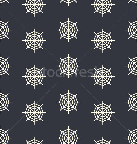 Seamless Pattern Spider Web Stock photo © smeagorl
