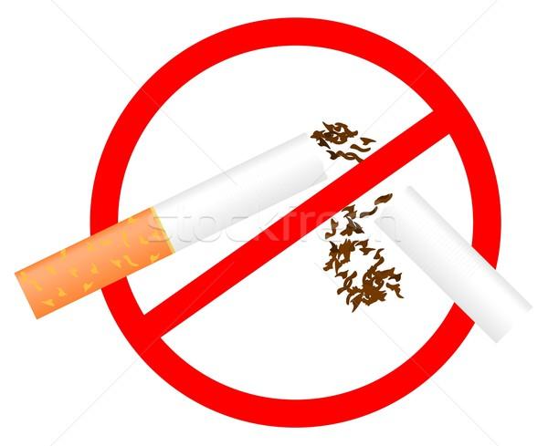 No Smoking sign Stock photo © smeagorl