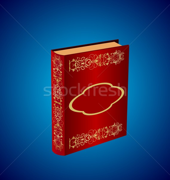 book decorated with an ornament  Stock photo © smeagorl