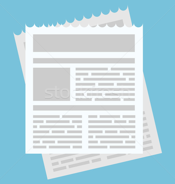 Egyszerű ikon hírlevél háló alkalmazás terv Stock fotó © smeagorl