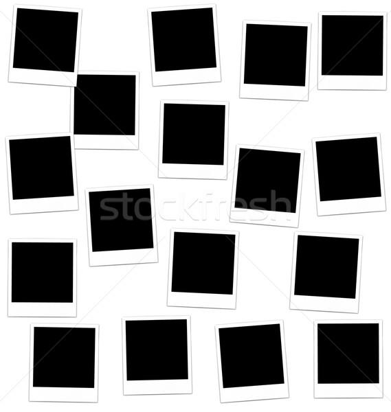 Collection photo frame  Stock photo © smeagorl