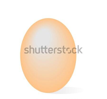 Realistic illustration easter egg Stock photo © smeagorl