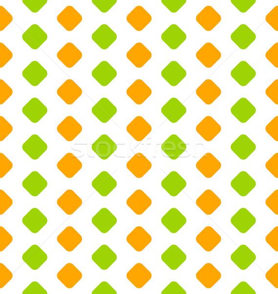 Seamless Texture with Geometric Figures Stock photo © smeagorl