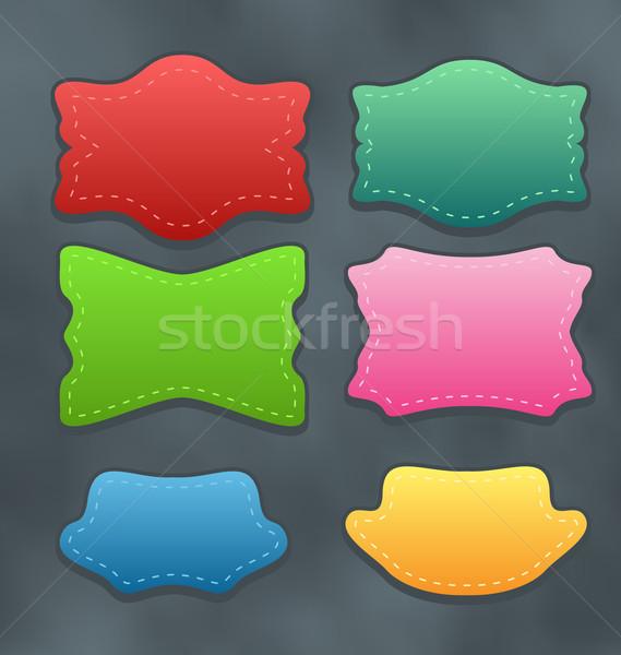 Establecer colorido variación descuento ilustración Foto stock © smeagorl
