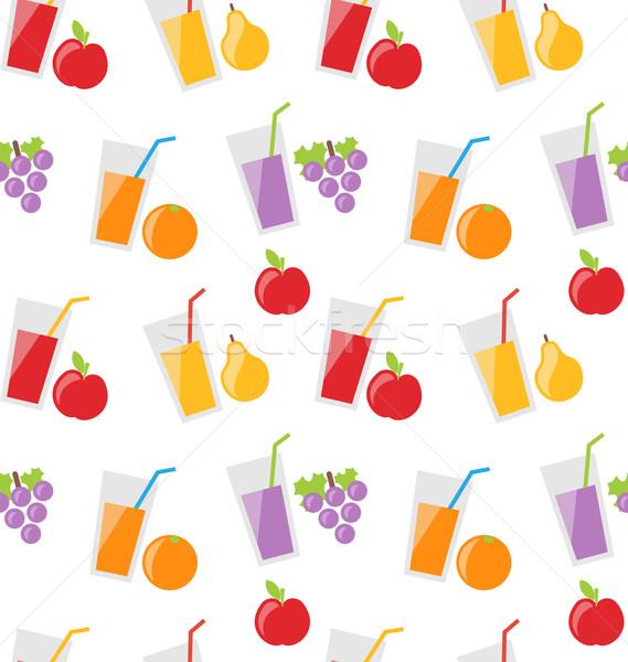 ストックフォト: 異なる · 新鮮果物 · 実例 · 食品 · 印刷