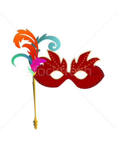 carnaval masks Stock photo © smeagorl