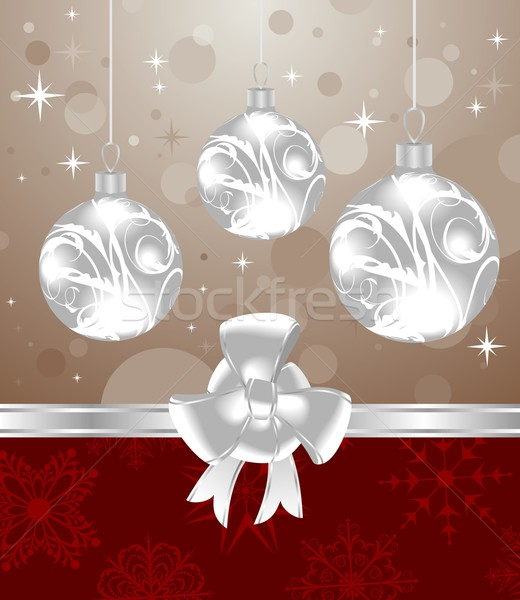 Christmas  background for design packing Stock photo © smeagorl