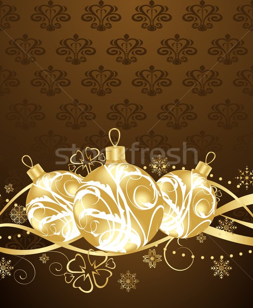 beautiful Christmas background Stock photo © smeagorl