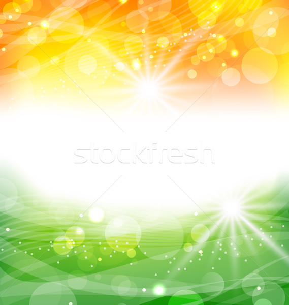 Abstract Background in Traditional National Colors Stock photo © smeagorl