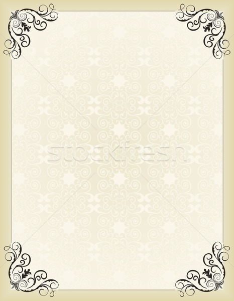 Illustration vintage background card for design Stock photo © smeagorl