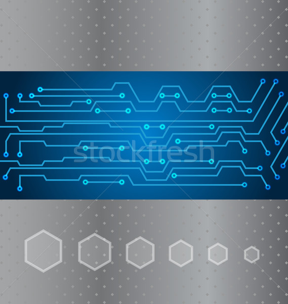 Abstract technologie illustratie circuit communie business Stockfoto © smeagorl