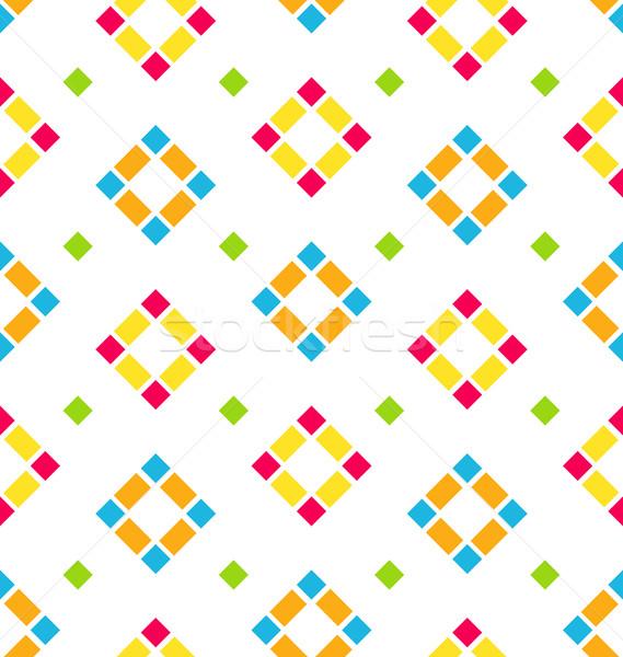 Renkli düzenli örnek soyut çocuk Stok fotoğraf © smeagorl