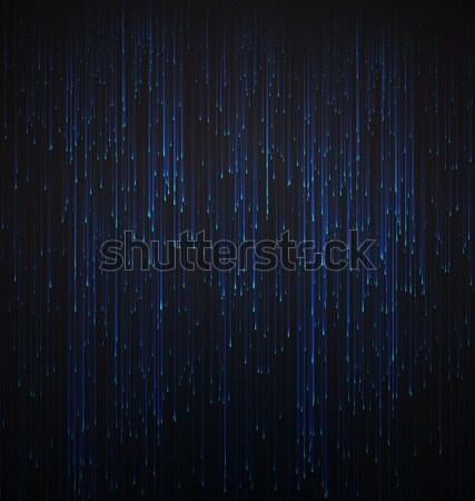 Abstract Background Fiber Optic Trace Blue Signal Stock photo © smeagorl