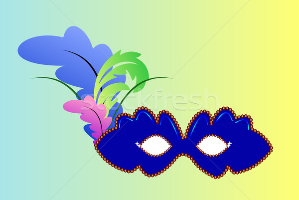 carnaval mask Stock photo © smeagorl
