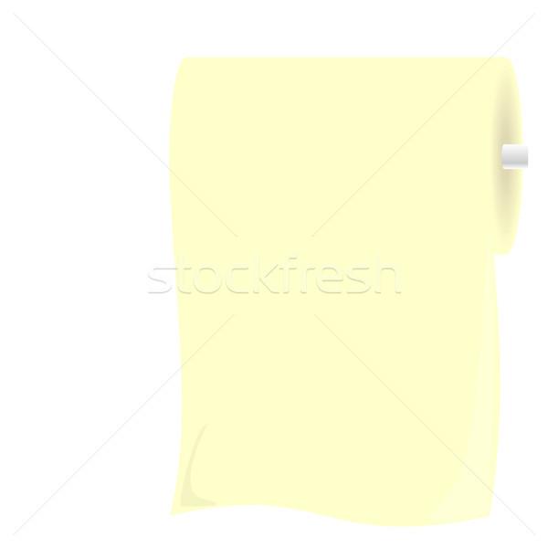 Illustration roll toliet paper Stock photo © smeagorl