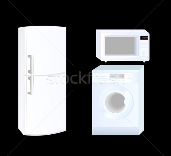 Huishoudelijke apparaten stockfoto 39 s afbeeldingen en vectoren stockfresh - Rookdetector ontwerp ...