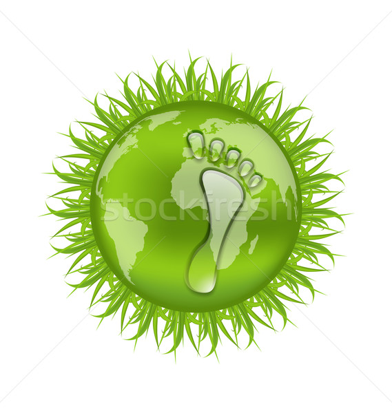 Go green concept, save our planet Stock photo © smeagorl