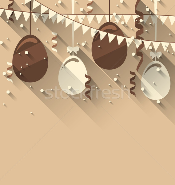 Happy Easter Background Stock photo © smeagorl