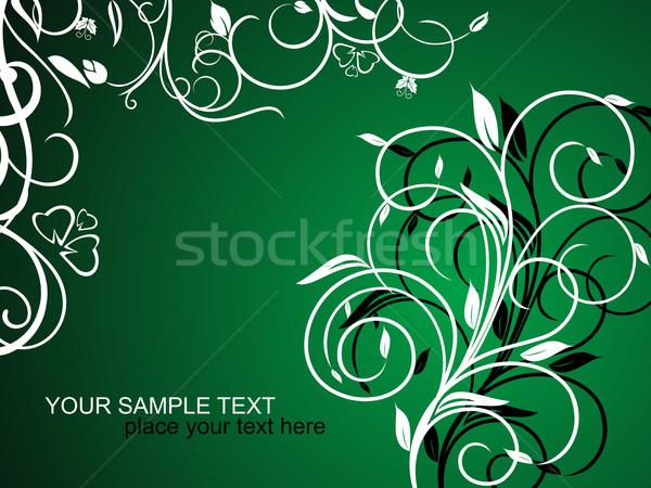 Decoratief vakantie kaart vector vlinder Stockfoto © smeagorl