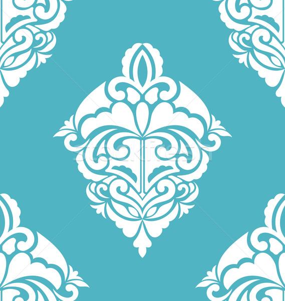 Seamless Ornamental Pattern. Vintage Luxury Texture Stock photo © smeagorl