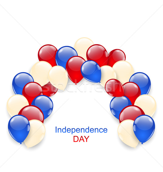 American Independence Day Decoration Stock photo © smeagorl