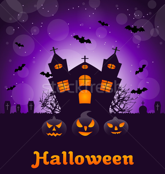 Halloween Nature Background Stock photo © smeagorl