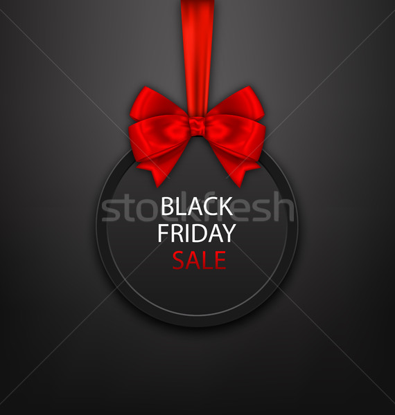 Black friday çerçeve yay örnek dizayn Stok fotoğraf © smeagorl