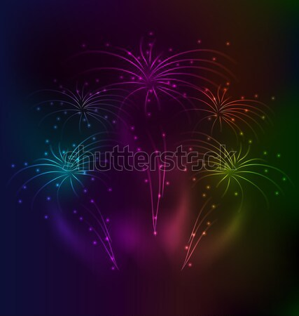 Awesome salute background with light effect  Stock photo © smeagorl