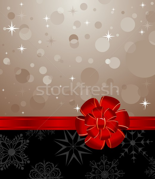 Christmas background with set balls for holiday design Stock photo © smeagorl