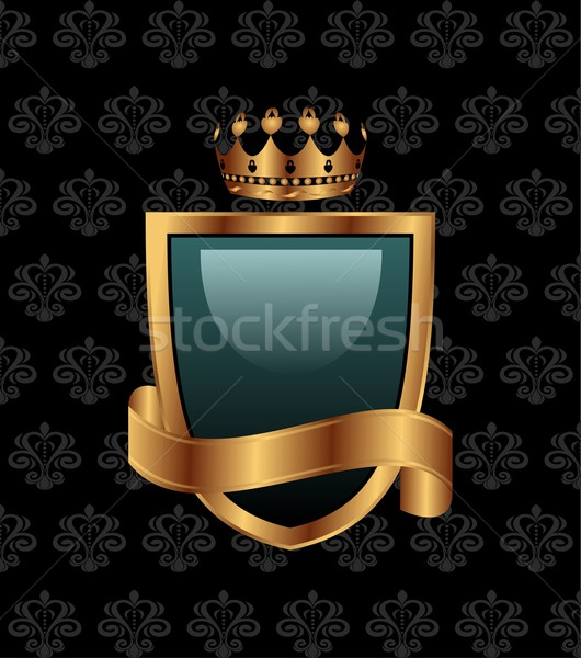 vintage with heraldic elements Stock photo © smeagorl