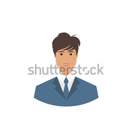 フロント 顔 肖像 アバター オフィス マネージャ ストックフォト © smeagorl