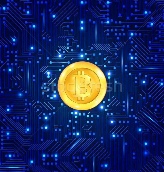 マイニング データベース デザイン 通貨 bitcoinの ストックフォト © smeagorl