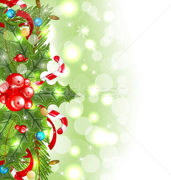 クリスマス 休日 装飾 実例 ツリー ストックフォト © smeagorl