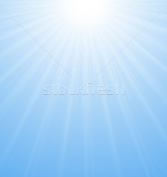 Abstract Blue Background Sunburst Vibrant Stock photo © smeagorl