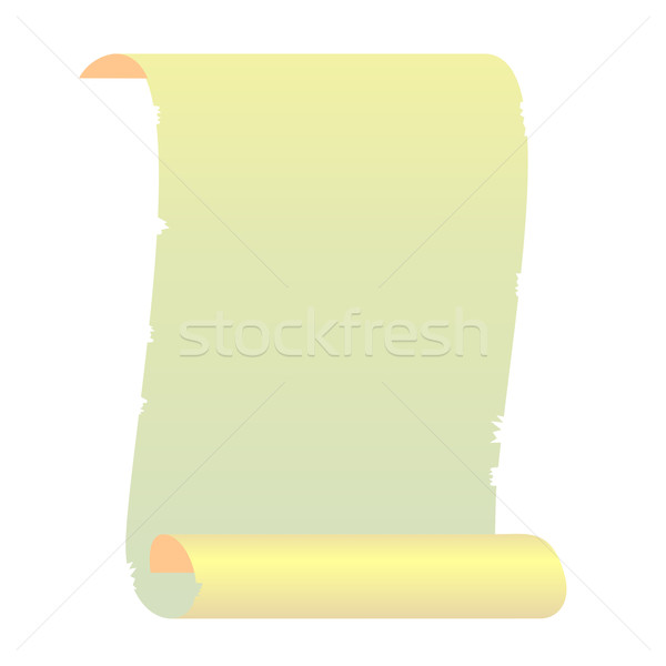 Realistic illustration roll for manuscript Stock photo © smeagorl