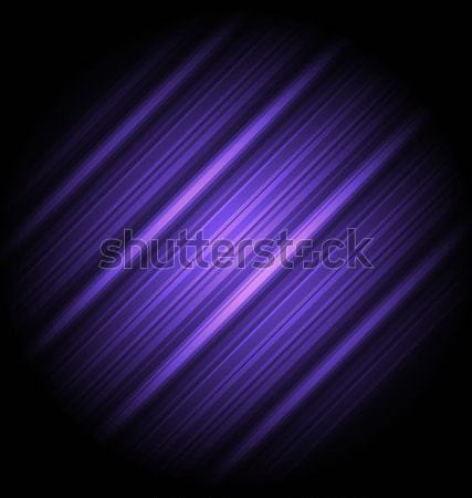 Stock photo: Hi-tech abstract violet background, striped texture