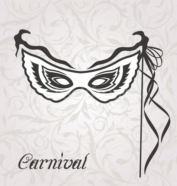 ベニスの カーニバル 劇場 マスク 実例 ストックフォト © smeagorl