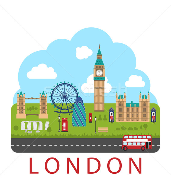 Stock photo: London, England. Urban Background
