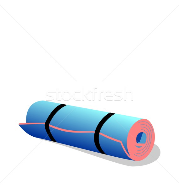 Realistic illustration of  spandex mat Stock photo © smeagorl