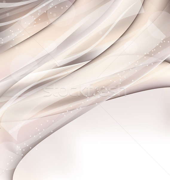 Abstract wavy background with lighting effect Stock photo © smeagorl