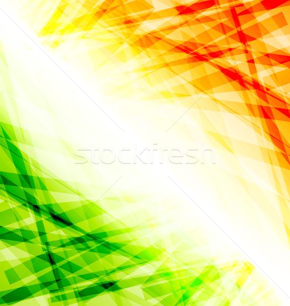 Indiai nap 15 augusztus illusztráció boldog Stock fotó © smeagorl