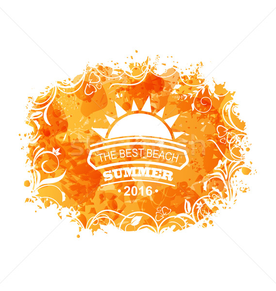 Summer Background of Holidays Design Stock photo © smeagorl