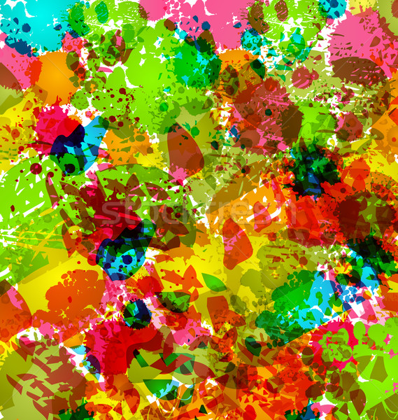Abstract grunge background, colorful blurs Stock photo © smeagorl