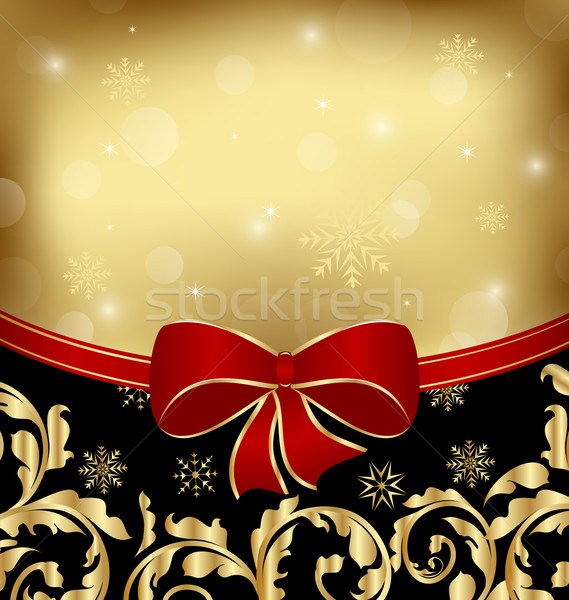 Christmas holiday ornamental decoration for design packing Stock photo © smeagorl
