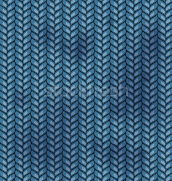 ткань текстуры грязные Места синий моде Сток-фото © smeagorl