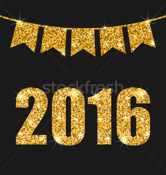 Happy New Year 201 Stock photo © smeagorl