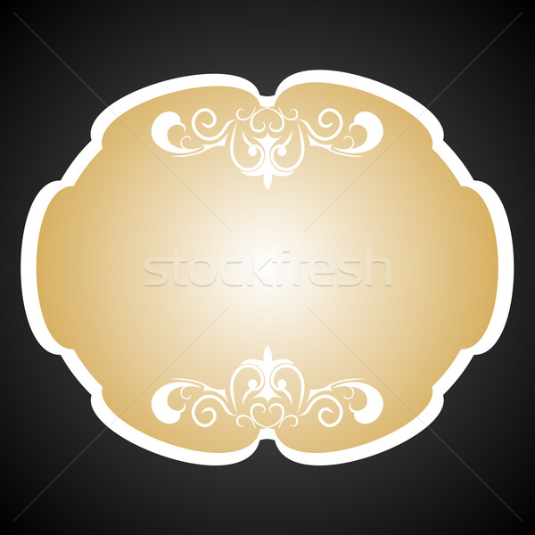 Royal background card for design Stock photo © smeagorl