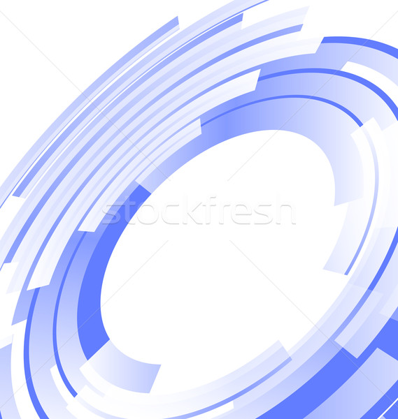 Blended elements striped cut from circles Stock photo © smeagorl